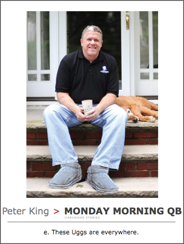 Peter-King-Uggs
