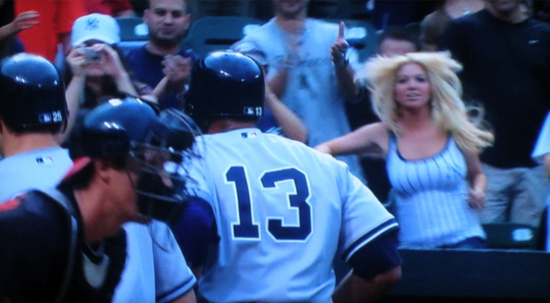 A-Rod Returns Home Run