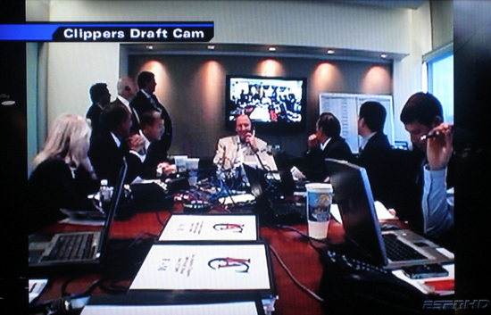 Clippers Draft Cam