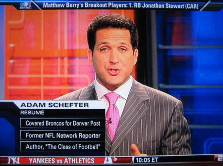 Adam schefter unbearable douchebag