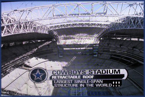 Cowboy Stadium NBA ridiculous