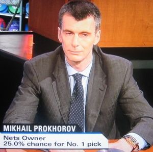 Prokhorov knowingly nods to kindred spirit Kiki Vendeweighe