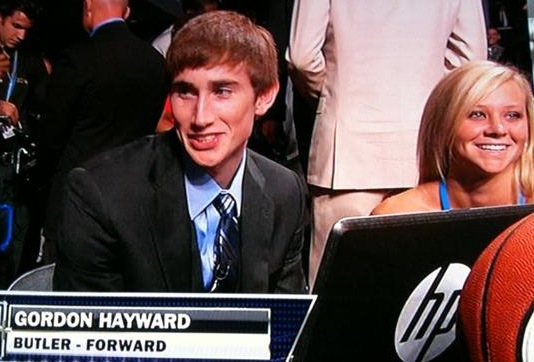 Gordon Hayward is not of this earth