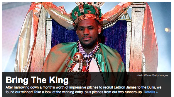 LeBron is the King or the next Scottie Pippen