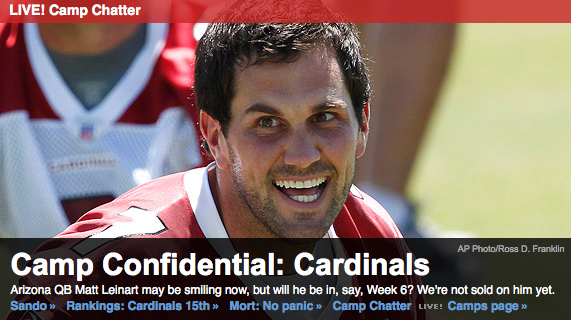 Matt Leinart is sex starved