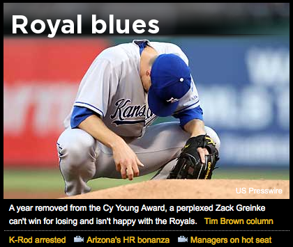 Zack Greinke loves the Royals