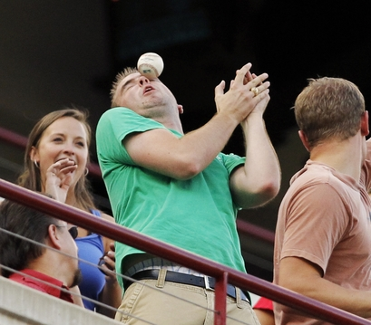 Foul ball plague continues