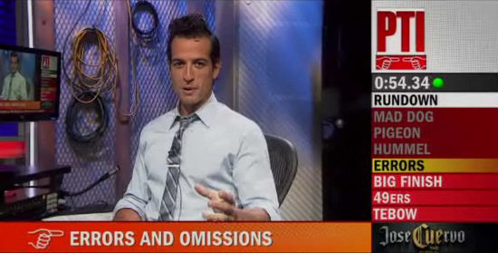 Tony reali on the set of Jersey Boys