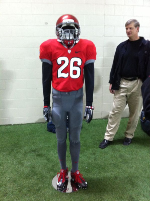 Ohio State Nike Combat uniforms