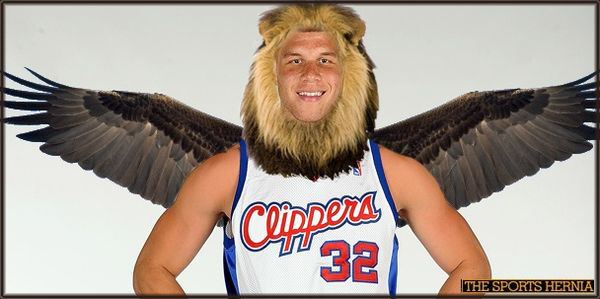 Blake Griffin Flyin Lion