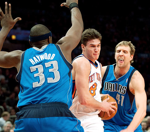 Danilo Gallinari stunned by Haywood armpit stench