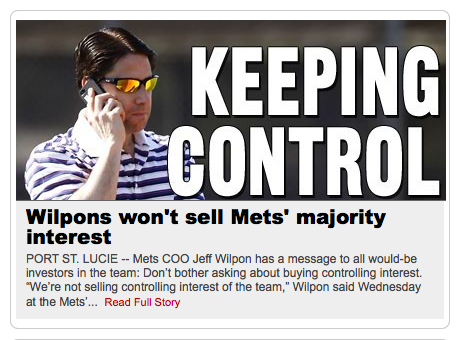 Jeff Wilpon is a pelican