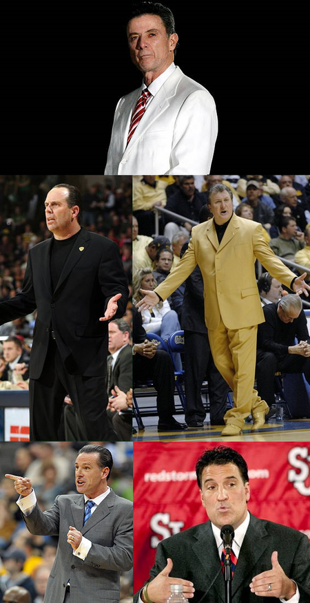 Big east coaches in deep with mafia