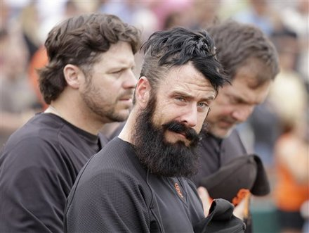 Brian Wilson SF hungover