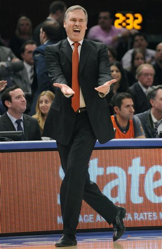 Mike Dantoni Knicks