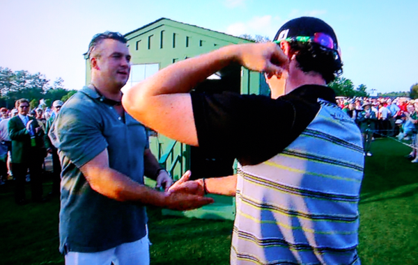 Rory McIlroy Shane McMahon Masters