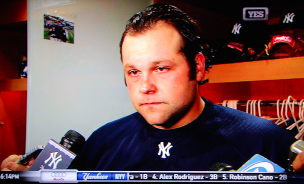 Joba Chamberlain channels Tony Soprano and Gio Rabisi