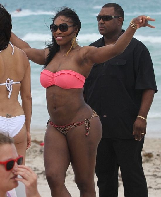 Serena Williams is actually Warren Sapp