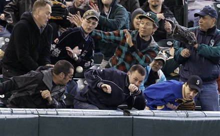 Foul ball fail