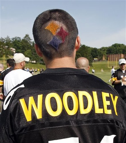 Steelers fan idiot