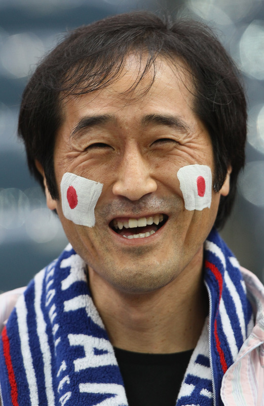 Japan fan World Cup