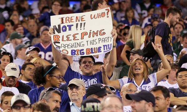 Giants fans are idiots