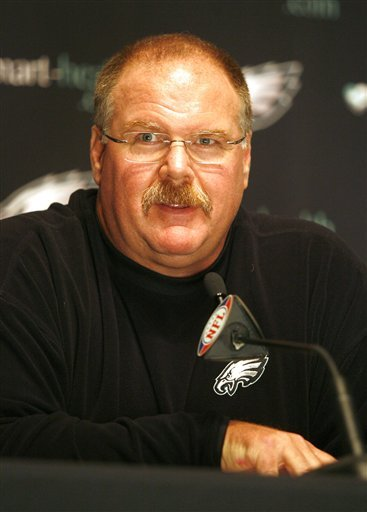 Andy Reid is a beaver