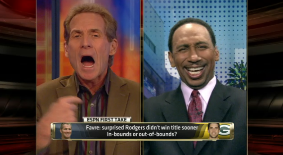 Skip Bayless reacts to bad Stephen A. Smith gas