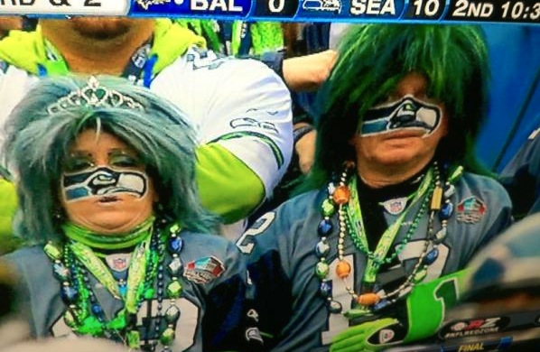 Seahawks fans are idiots
