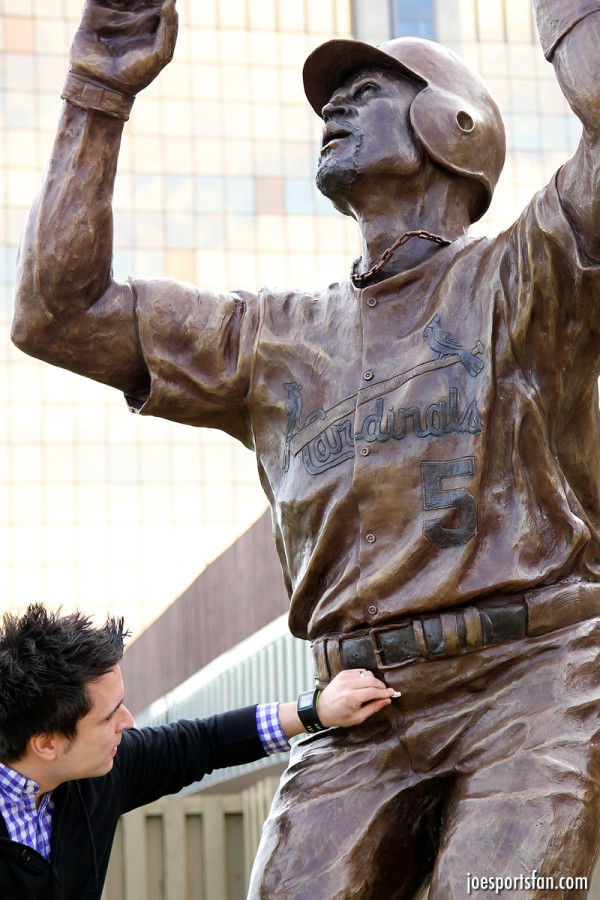 Albert Pujols statues gets the dong treatment