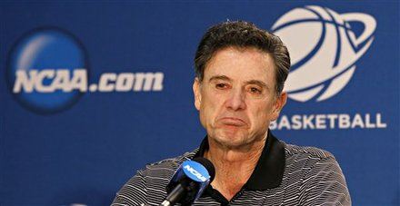 Rick Pitino shortly after drinking from the wrong grail