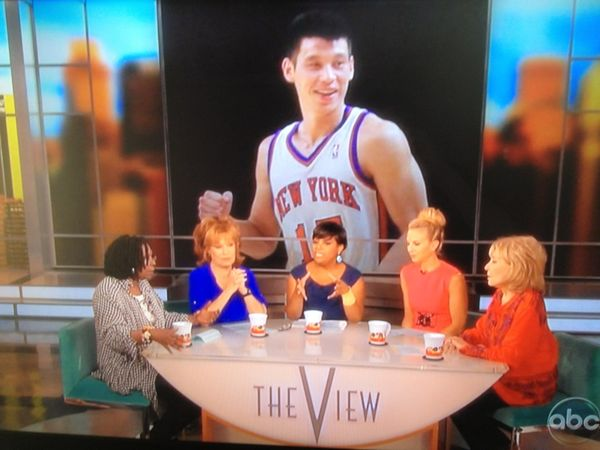 Jeremy Lin The View really