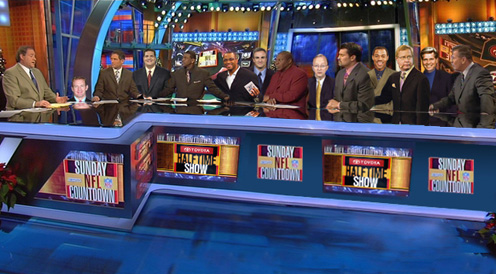NFL Countdown Studio Floor Collapses Under Weight of 14 Analysts at Same Desk