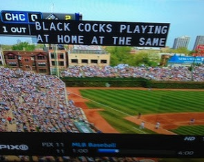 Black cock Mets broadcast