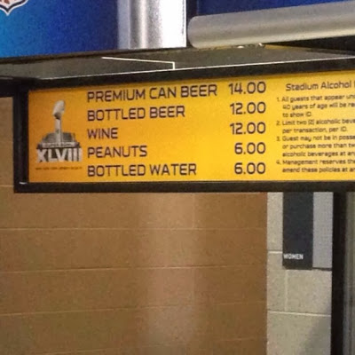 Met life super bowl prices